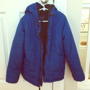 Lands' End Royal Blue Jacket. EUC!